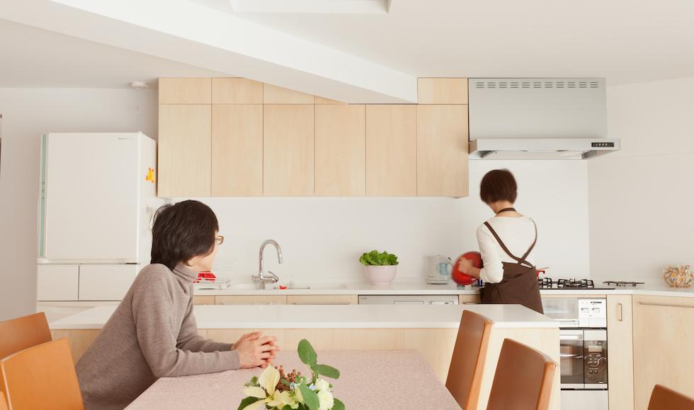 キッチンは仕事場 都立大学のお料理教室リノベーション